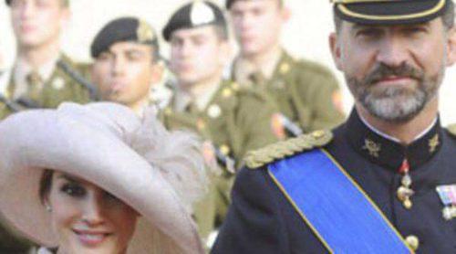 Los Príncipes Felipe y Letizia se unen a los invitados a la boda religiosa de Guillermo de Luxemburgo y Stéphanie de Lannoy