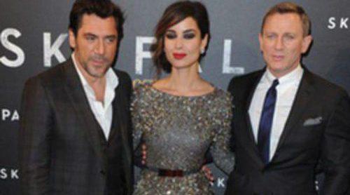 Javier Bardem, Bérénice Marlohe y Daniel Craig llevan 'Skyfall' hasta París