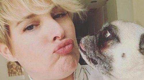 Tania Llasera, desolada ante la muerte de su perrita Mila: 'Mi primer bebé ya no está en este mundo'