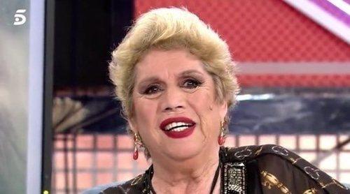 La entrevista más divertida de María Jiménez en 'Sábado Deluxe': confiesa un sueño erótico con Jorge Javier