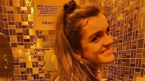 La foto más surrealista de Amaia Romero con Javier Calvo en el baño