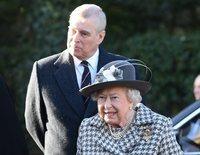 La Reina Isabel y el Príncipe Andrés aparecen tras la renuncia de Harry y Meghan a ser Altezas Reales