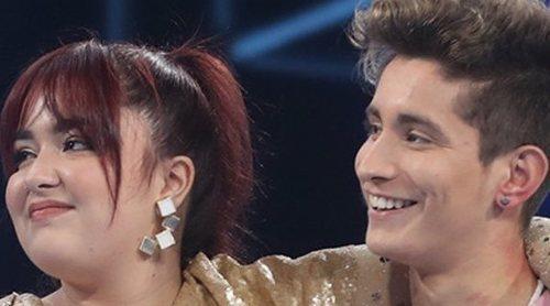 Nick y Ariadna, primeros nominados de OT 2020 en una gala en la que faltó un jurado más duro