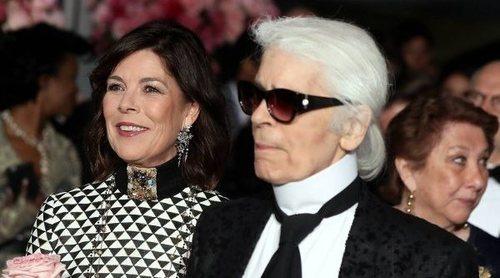 Carolina de Mónaco y Karl Lagerfeld: así era la relación entre el diseñador y su musa