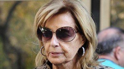 María Teresa Campos no le coge el teléfono a María Jiménez: 'Debe de estar muy enfadada'