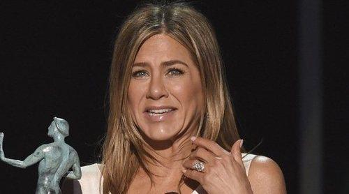 Jennifer Aniston sobre su reencuentro con Brad Pitt: 'Ha sido una locura'