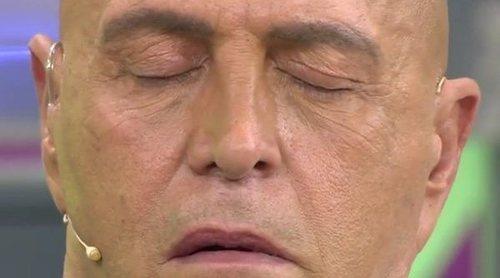 Kiko Matamoros se queda dormido en directo en 'Sálvame'