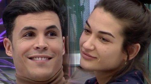 Estela Grande y Kiko Jiménez se reconcilian en 'El tiempo del descuento': 'Me da miedo que me des la patada'