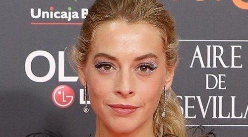 Belén Écija debuta en la alfombra roja de los Goya 2020 sin la compañía de su madre, Belén Rueda