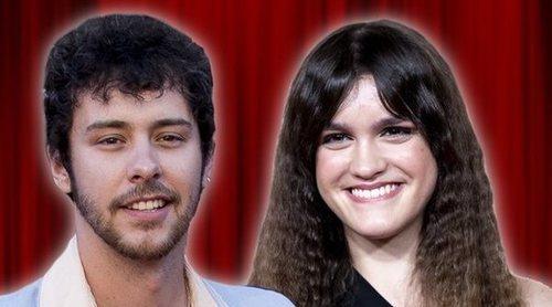 El beso que confirma el romance de Amaia Romero con Álex de Lucas