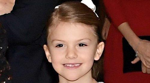 Estela de Suecia estrena fundación antes de cumplir 8 años