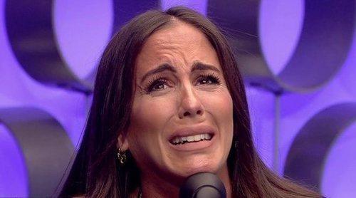 Anabel Pantoja recibe muy emociona la llamada sorpresa de su novio en 'El tiempo del descuento'