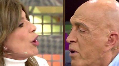 El fuerte enfrentamiento entre Gema López y Kiko Matamoros: 'Que tú des lecciones de ética, me parto de risa'