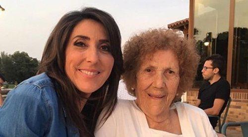 Muere la madre de Paz Padilla a los 91 años