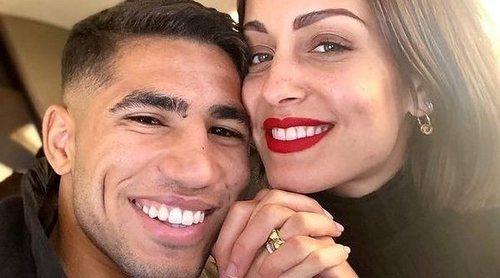 Hiba Abouk y Achraf Hakimi han sido padres de su primer hijo
