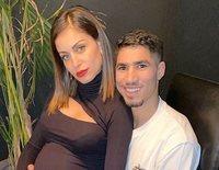 Hiba Abouk y Achraf Hakimi anuncian el nacimiento de su primer hijo y desvelan su nombre