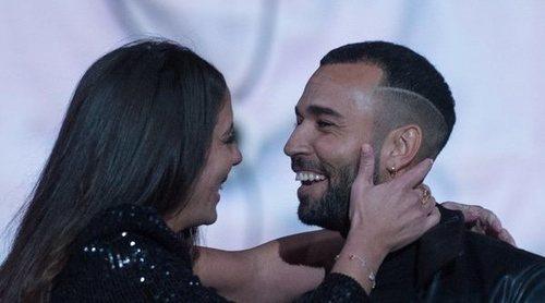 El cómico reencuentro de Anabel Pantoja con su novio Omar Sánchez en 'El tiempo del descuento'