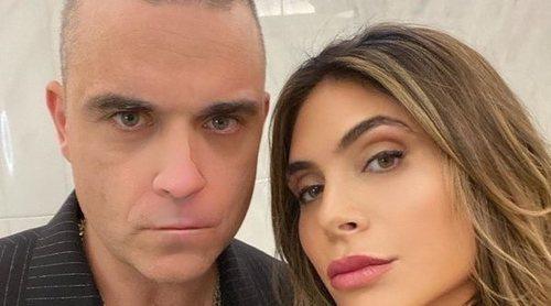 Robbie Williams y Ayda Field anuncian que han sido padres por cuarta vez