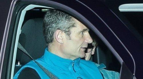 Iñaki Urdangarin está ya en Vitoria junto a la Infanta Cristina y sus hijos
