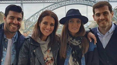 Sara Carbonero e Iker Casillas, los mejores anfitriones para Paula Echevarría y Miguel Torres en Oporto