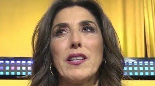 Paz Padilla vuelve a 'Sálvame' rindiendo homenaje a su madre: