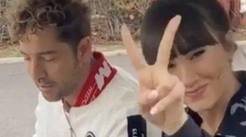 Aitana Ocaña, la nueva 'chófer' de David Bisbal mientras graban 'La Voz Kids'