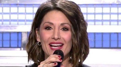 La romántica indirecta de Nagore Robles a Sandra Barneda presentando 'MyHyV': 'El nombre más bonito de todos'