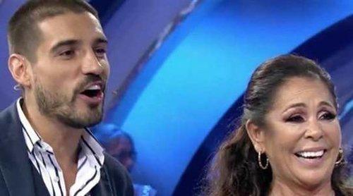 Fabio Colloricchio debuta como colaborador de 'Volverte a ver' en la visita de Isabel Pantoja al programa
