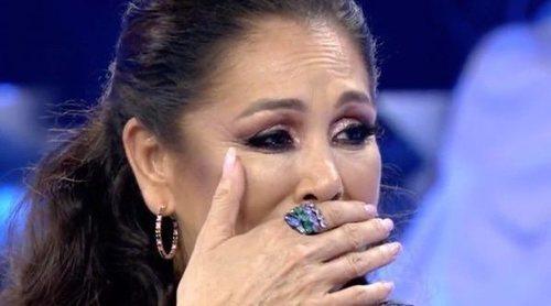 Isabel Pantoja, emocionada por los mensajes de Kiko Rivera y Chabelita en 'Volverte a ver': 'Ya está todo arreglado'