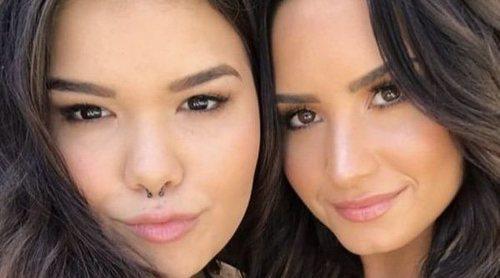 Así son y así se llevan Demi Lovato y Madison de la Garza, dos hermanas convertidas muy jóvenes en artistas