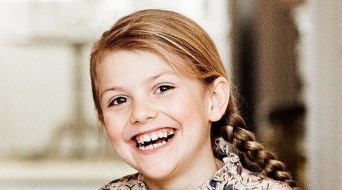 La Casa Real Sueca publica nuevas fotografías de Estela de Suecia coincidiendo con su octavo cumpleaños