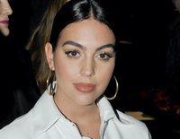 Georgina Rodríguez disfruta de la semana de la moda de Milán