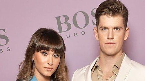 Aitana Ocaña y Miguel Bernardeau posan juntos por primera vez en la Semana de la Moda de Milán