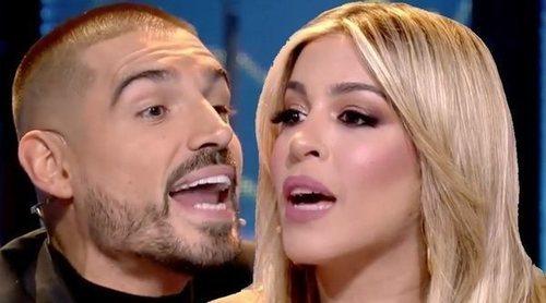 El tenso enfrentamiento de Fabio con Oriana comparando su paso por 'SV': '¡No duraste ni una semana dentro!'