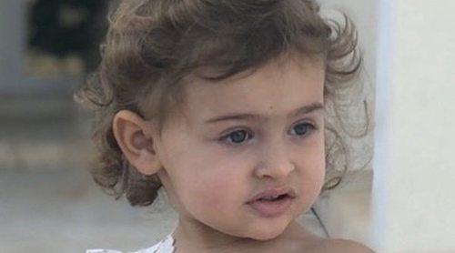 Magdalena de Suecia muestra una foto de su hija Adrienne de Suecia en la que se ve su parecido con Chris O'Neill