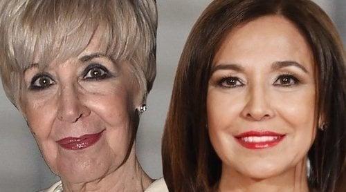 Concha Velasco zanja su polémica con Isabel Gemio tras haberla sustituido en 'Sorpresa, sorpresa'