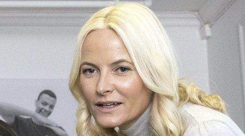La Princesa Mette-Marit de Noruega estrena agenda oficial con su primer acto público de 2020