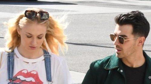 Las imágenes que confirman discretamente que Joe Jonas y Sophie Turner esperan un hijo