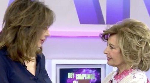 El cariñoso comentario de María Teresa Campos a Ana Rosa Quintana: 'Te quiero, te respeto y te admiro'