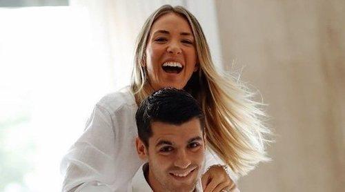 Alice Campello desvela cómo contó a Álvaro Morata que estaba embarazada