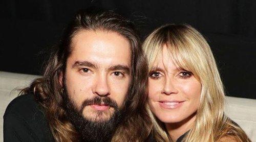 Heidi Klum y Tom Kaulitz protagonizan un beso entre cristales en su cuarentena por el Coronavirus