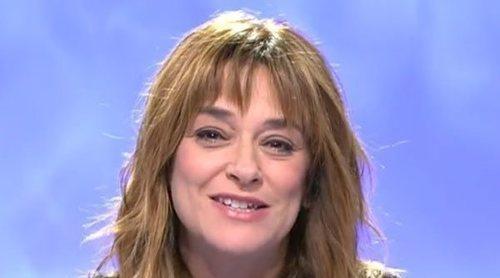 La emotiva despedida de Toñi Moreno en 'Mujeres y Hombres y Viceversa' tras su cancelación por el coronavirus