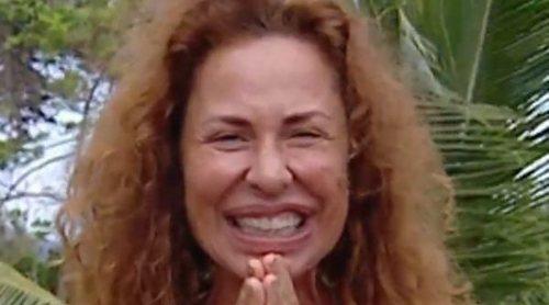 Así reaccionó Vicky Larraz a su cambio físico tras su paso por 'Supervivientes 2020' : '¡Qué flaca!'