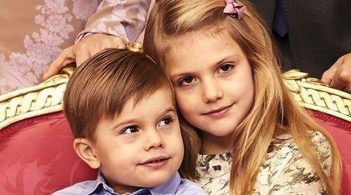 Los Príncipes Estela y Oscar de Suecia dan ejemplo sobre cómo luchar contra el coronavirus
