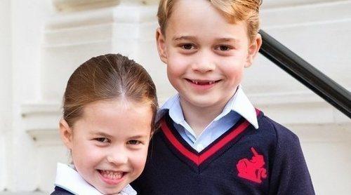 El Príncipe Jorge, la Princesa Carlota y el Príncipe Luis se unen a los Duques de Cambridge en su labor contra el coronavirus