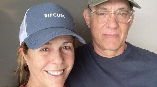 Tom Hanks y Rita Wilson vuelven a Los Angeles después de superar el coronavirus en Australia