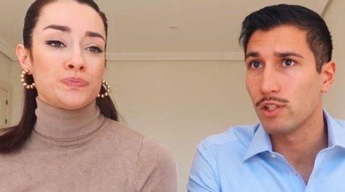 El último vídeo de Adara y Gianmarco antes de que se fuera a Italia: reproches y una situación extraña