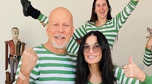Demi Moore y Bruce Willis pasan la cuarentena por el coronavirus juntos con sus hijas