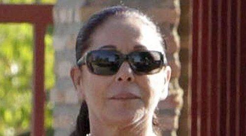El confinamiento de Isabel Pantoja: baja de ánimo y a la espera de 'Idol Kids'
