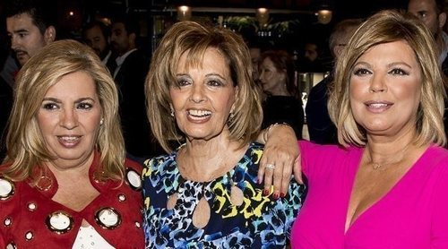 La pullita de Carmen Borrego a María Teresa Campos y a Terelu Campos en 'Ven a cenar conmigo: Gourmet Edition'